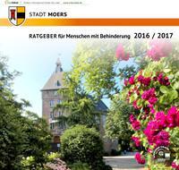 ARCHIVIERT RATGEBER für Menschen mit Behinderung 2016 / 2017 Stadt Moers