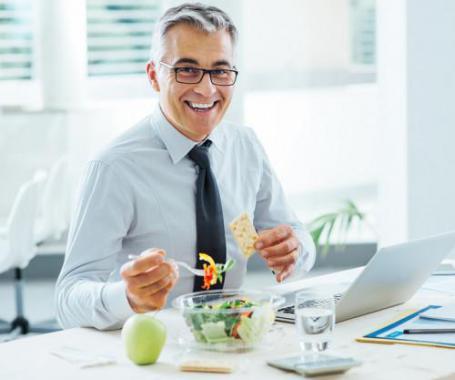 Gesund bleiben trotz Hektik bei der Arbeit