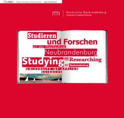 Studieren und Forschen an der Hochschule Neubrandenburg