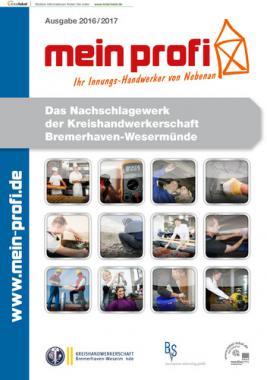 Mein Profi - Das Nachschlagewerk der Kreishandwerkerschaft Bremerhaven-Wesermünde