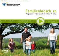 Familienbroschüre Wegweiser für den Landkreis Teltow-Fläming