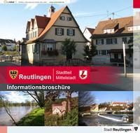 Reutlingen Stadtteil Mittelstadt Informationsbroschüre (Auflage 1)