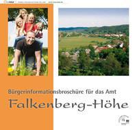 Amt Falkenberg-Höhe Bürgerinformationsbroschüre (Auflage 1)