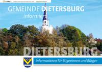 Gemeinde Dietersburg informiert (Auflage 3)