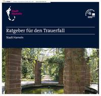 Ratgeber für den Trauerfall Stadt Hameln (Auflage 5)