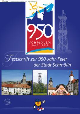 Festschrift zur 950-Jahr-Feier der Stadt Schmölln (Auflage 1)