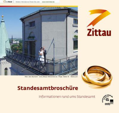 Informationen rund ums Standesamt Zittau (Auflage 1)