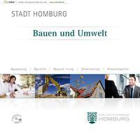 Bauen und Umwelt STADT HOMBURG (Auflage 4)