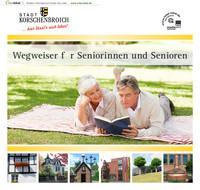 ARCHIVIERT Wegweiser für Seniorinnen und Senioren Stadt Korschenbroich