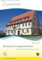 Gemeinde Langenbrettach Bürgerinformationsbroschüre (Auflage 4)
