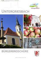 Untergriesbach Bürgerbroschüre (Auflage 2)