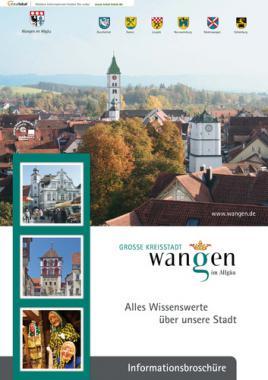 Alles Wissenswerte über unsere Stadt  Wangen im Allgäu (Auflage 13)