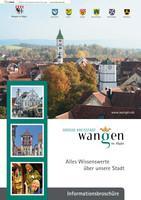ARCHIVIERT Alles Wissenswerte über unsere Stadt  Wangen im Allgäu (Auflage 13)