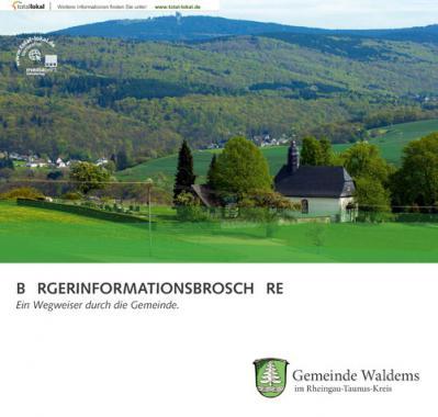 Ein Wegweiser durch die Gemeinde Waldems Bürgerinformationsbroschüre (Auflage 1)