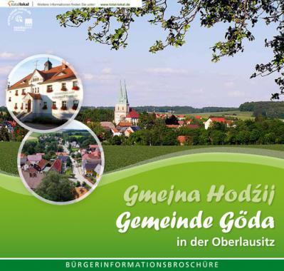 Gemeinde Göda in der Oberlausitz Bürgerinformationsbroschüre (Auflage 1)