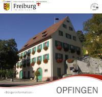 Freiburg - Opfingen Bürgerinformation (Auflage 2)