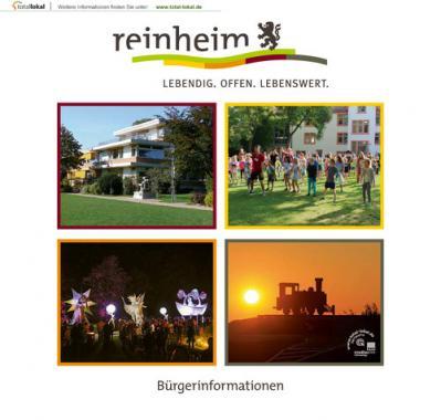 Reinheim Lebendig. Offen. Lebenswert. Bürgerinformationen (Auflage 12)