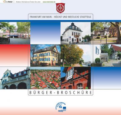 Bürger-Broschüre Frankfurt am Main - Höchst und Westliche Stadtteile (Auflage 7)