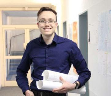 Interview: Lasse Blunk (18) über die Ausbildung zum Technischer Systemplaner