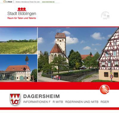 Böblingen-Dagersheim Informationen für Mitbürgerinnen und Mitbürger (Auflage 1)