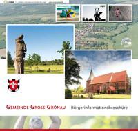 Bürgerinformationsbroschüre Gemeinde Gross Grönau (Auflage 1)