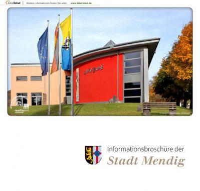 Informationsbroschüre der Stadt Mendig (Auflage 1)