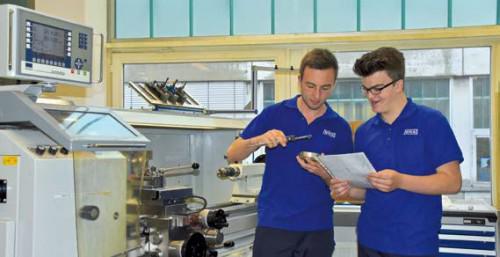 Interview: Fabian Kaufmann (16) über die Ausbildung zum Industriemechaniker