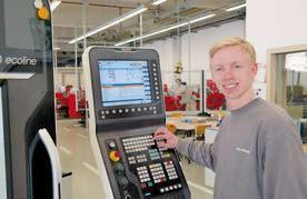 Interview: Tom Bischof (19) über die Ausbildung zum Produktionstechnologen