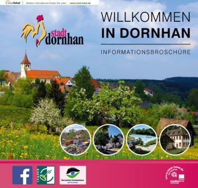 Willkommen in Dornhan - Informationsbroschüre (Auflage 3)