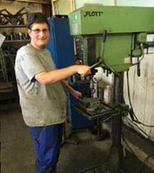 Interview: Christoph Lang (21) über die Ausbildung zum Metallbauer Fachrichtung Konstruktionstechnik