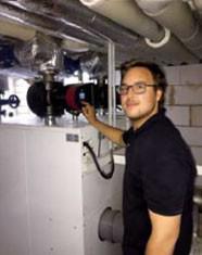 Interview: Simon Meyer (19) über die Ausbildung zum Anlagenmechaniker