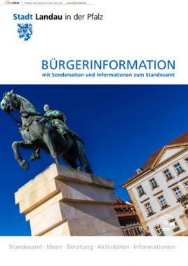 Bürgerinformation mit Sonderseiten zum Stadesamt  Stadt Landau i.d. Pfalz (Auflage 6)