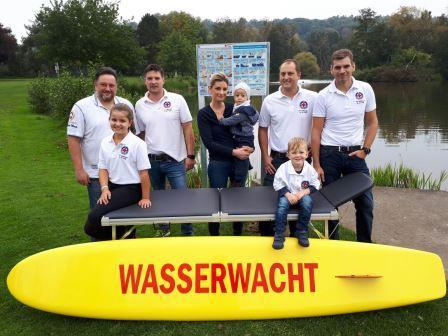 Stadt unterstützt die Wasserwacht Saltendorf