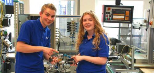 Interview: Carolin Nebel, 17 Jahre, Ausbildung zur Industriemechanikerin