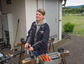 Interview: Vanessa Billek (22), Ausbildung zur Elektronikerin für Betriebstechnik