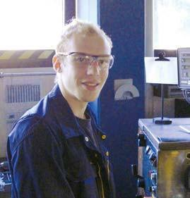 Interview: Lucas Löchel (19), Ausbildung zum Industriemechaniker