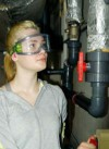 Interview: Anna-Lena Rüsch (21) über die Ausbildung zur Fachangestellte für Bäderbetriebe