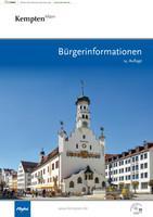 Kempten im Allgäu Bürgerinformationen (Auflage 14)