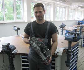 Interview: Kevin Treffkorn (23),Ausbildung zum Gießereimechaniker Fachrichtung Maschinenformguss
