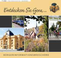 Entdecken Sie Gera  Bürgerinformationsbroschüre (Auflage 2)
