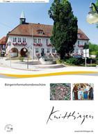 ARCHIVIERT Bürgerinformationsbroschüre Knittlingen (Auflage 9)