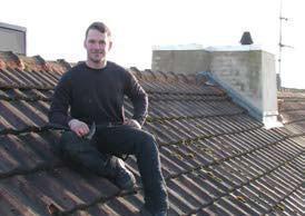 Interview: Benjamin Littert (19) über die Ausbildung zum Dachdecker