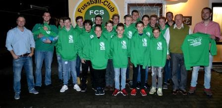 Tolles Geschenk für die C-Jugend des SC Teublitz