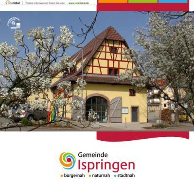 Gemeinde Ispringen Bürgerinformationsbroschüre (Auflage 13)