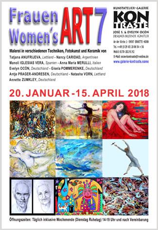 Ausstellung FrauenART 7 - Women'sART 7 - Arte Femenino 7