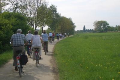 Öffentliche Radtour
