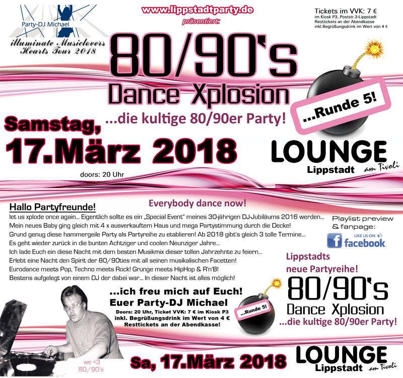 80/90's Dance Xplosion ...Runde 5