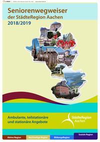 ARCHIVIERT Seniorenwegweiser der StädteRegion Aachen 2018/2019 (Auflage 4)