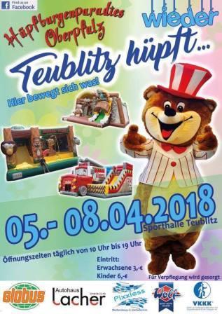 TEUBLITZ HÜPFT … WIEDER!