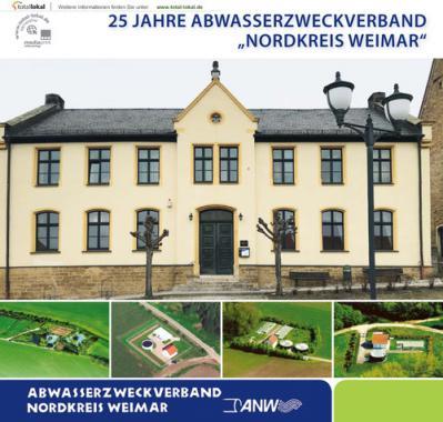 """25 Jahre Abwasserzweckverband """"Nordkreis Weimar"""" (Auflage 1)"""